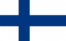 FINLAND - HAND WAVING FLAG (MEDIUM)